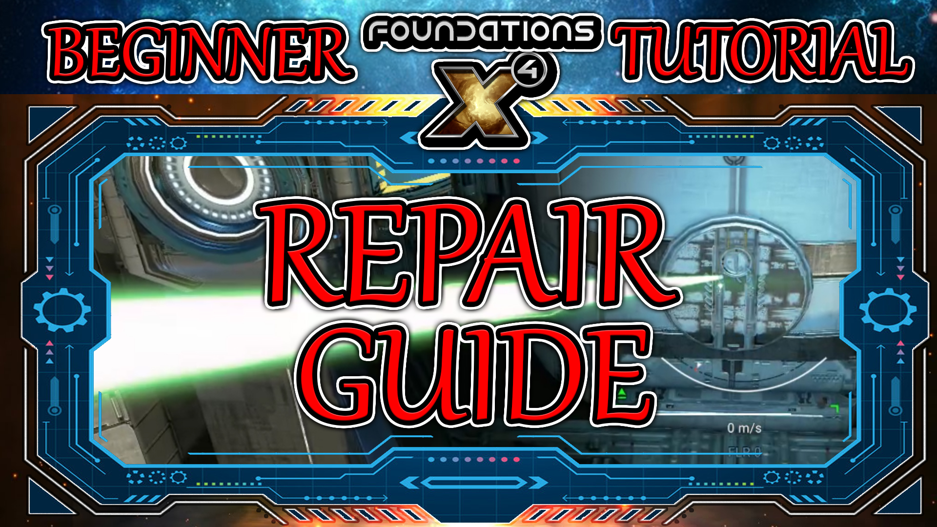 X4 Foundations How to Repair (Beginner X4 Foundations Guide)